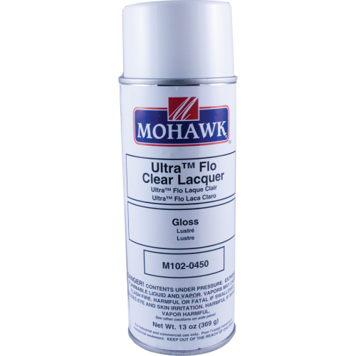 Lacquer - Mohawk, Ultra-Flo Clear, Gloss, 13 oz can image 1