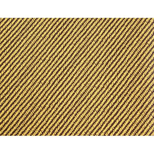 "Tolex - Light Brown Striped Vinyl Tweed, 59"" Wide image 1"