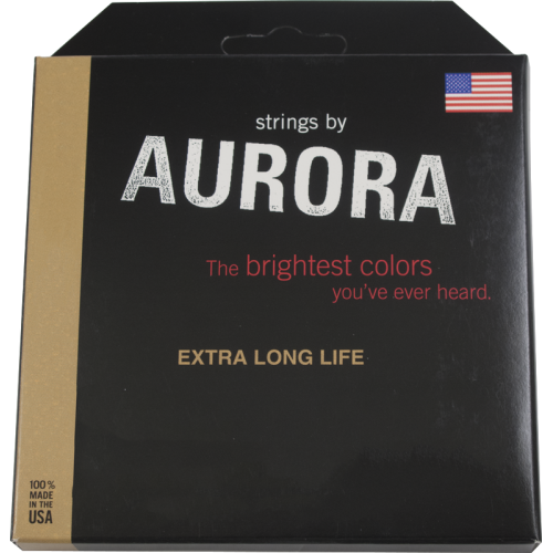 5-String Bass Guitar Strings - Aurora, Nitro-Lime, Medium image 1