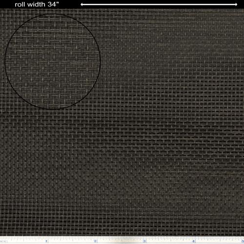 """Grill Cloth - Black, basket weave, 34"""" Wide image 1"""