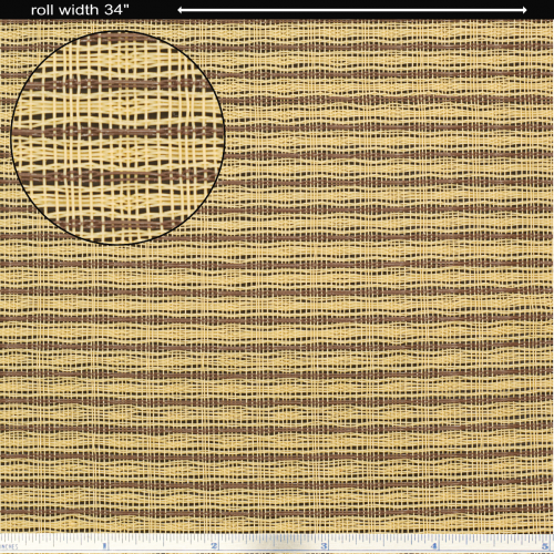 """Grill Cloth - Tan / Brown Wheat, 34"""" Wide image 1"""