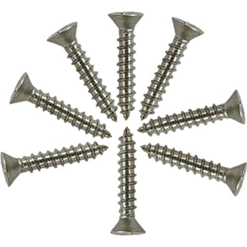 "Screw - #6 x 3/4"", Flat Head, Stainless Steel image 1"