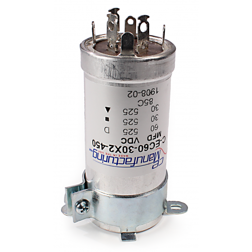 """Capacitor Clamp - 1.375"""" diameter, for vertical mounting image 2"""