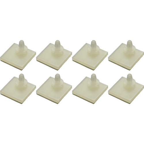 "Standoffs - 0.18"", plastic with adhesive backing image 1"