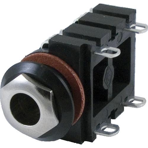 "Jack - Mono, 1/4"", 4 Solder Lugs, Switched image 1"