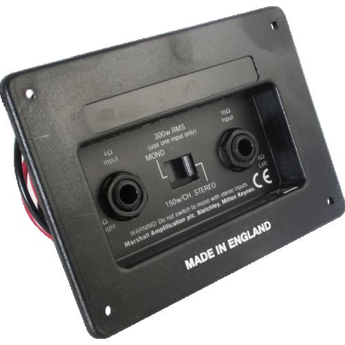 Jack Plate - Marshall, Switchable Stereo / Mono image 1