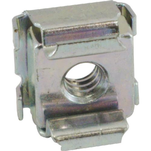 Nut - Cage, Zinc, 10-24, Electroplate Panel Range .064-.105 image 2