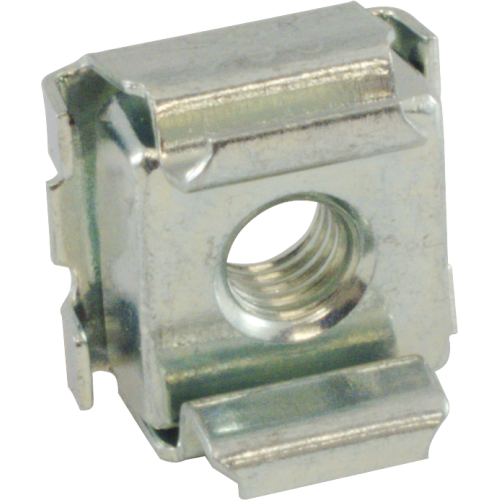 Nut - Cage, Zinc, 10-32, Electroplate Panel Range .064-.105 image 2