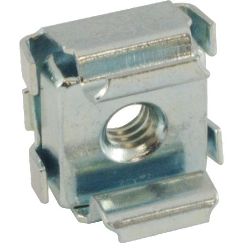 Nut - Cage, Zinc, 8/32, Electroplate Panel Range .064-.105, Each image 2