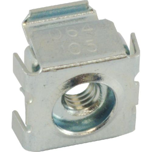 Nut - Cage, Zinc, 8/32, Electroplate Panel Range .064-.105, Each image 3