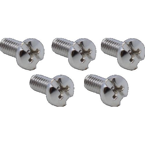 Screw - M3, Nickel, Combination Head, Binding, 6mm image 1
