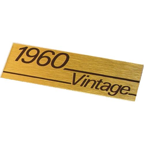 Plate, Original Marshall 1960 Vintage image 1