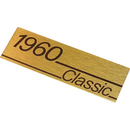 Marshall 1960 Vintage Logo 85mm
