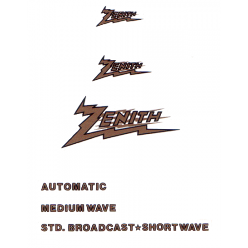 Decal - Zenith image 1
