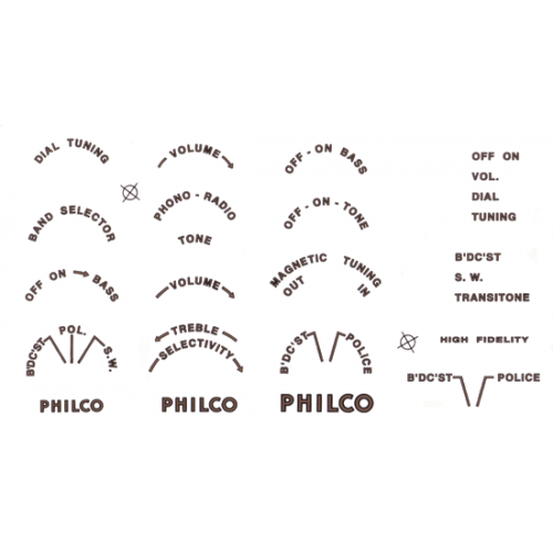Decal - Philco image 1