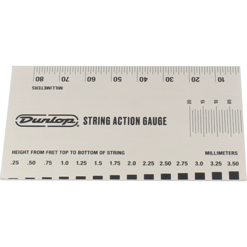 String Action Gauge - Dunlop, System 65 image 2