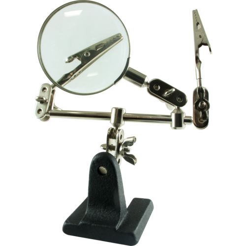 Tool - Helping Hand with Magnifier, 65mm, 2.5X image 1