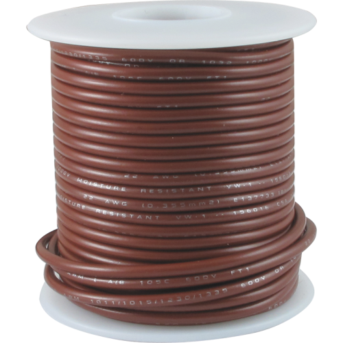 Wire - Hook-Up, 22 AWG, 50 foot roll image 8