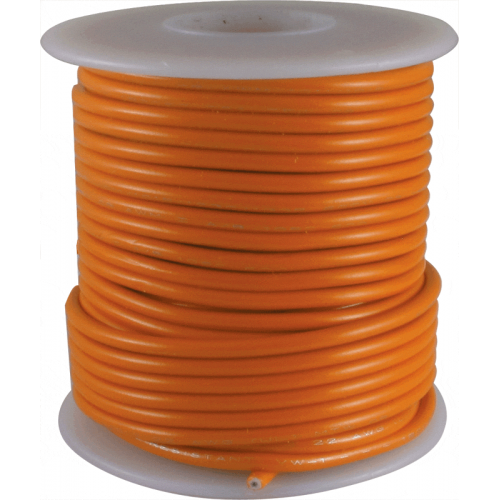 Wire - Hook-Up, 22 AWG, 50' roll, Orange image 1