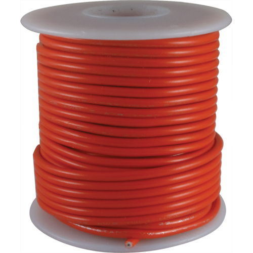 Wire - Hook-Up, 22 AWG, 50' roll, Red image 1