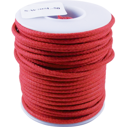 Wire - Hook-Up, Lacquered, 1000' Spool, Red, 600 Volt image 1