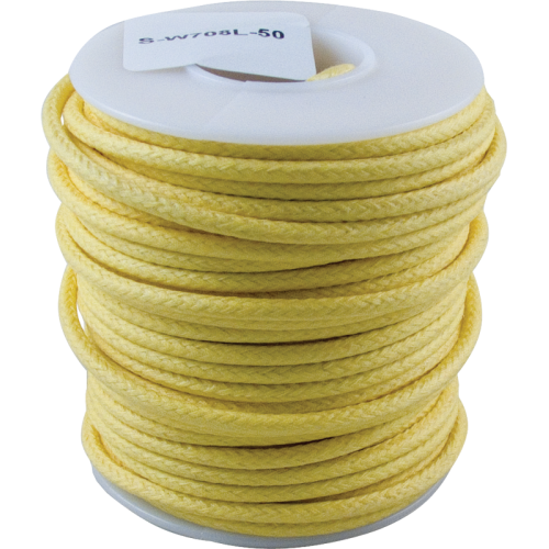 Wire - Hook-Up, Lacquered, 50' Spool, Yellow image 1