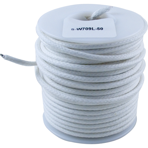 Wire - Hook-Up, Lacquered, 1000' Spool, White, 600 Volt image 1