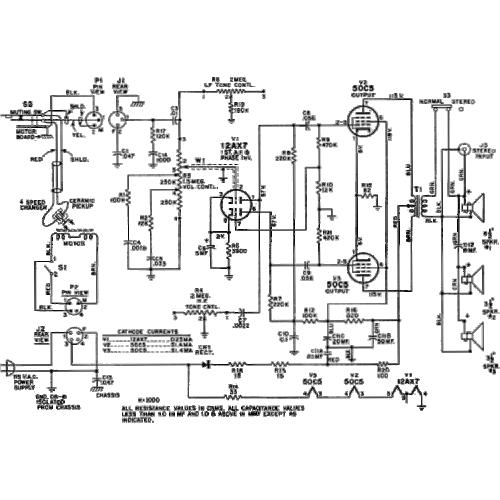 Antique Radio Schematics Also Electronic Circuit Schematic Diagrams