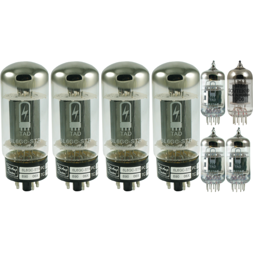 Tube Complement for Carol-Ann OD2 100W 6L6 image 1