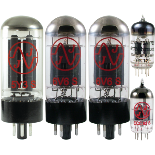 Tube Complement for Fender Deluxe 5D3 image 1