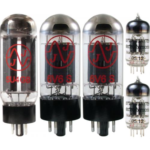 Tube Complement for Fender Super 2x10 V front image 1