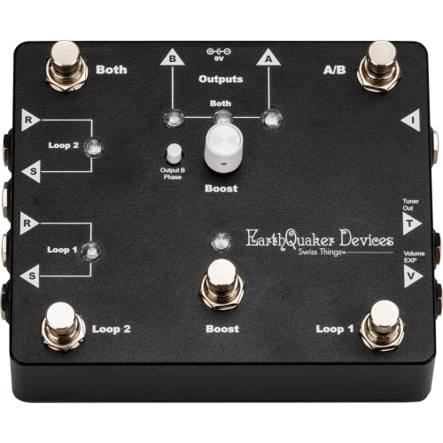 Effects Pedal – EarthQuaker Devices, Swiss Things®, Pedalboard Reconciler image 4
