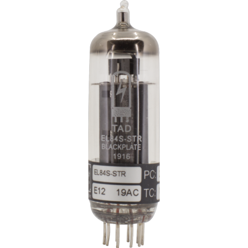 Vacuum Tube - EL84S-STR Blackplate, TAD, Premium Selected image 1