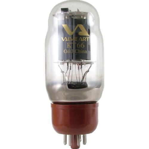 Vacuum Tube - KT66, Valve Art image 1