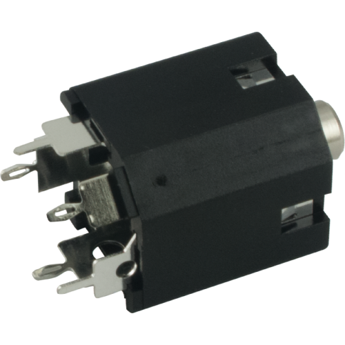 Jack - Amphenol, 3.5mm, Stereo, Switched, PC Mount image 1