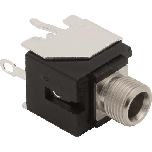3.5mm Jack - Qingpu, Eurorack, Mono, Switched Tip, Snap-In, PC Mount image 1