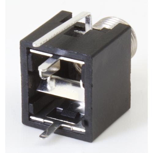 3.5mm Jack - Qingpu, Eurorack, Mono, Switched Tip, PC Mount image 2