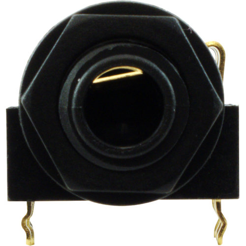"1/4"" Jack - Rean, Stereo, Horizontal, Switched, Plastic Nut, PC image 2"