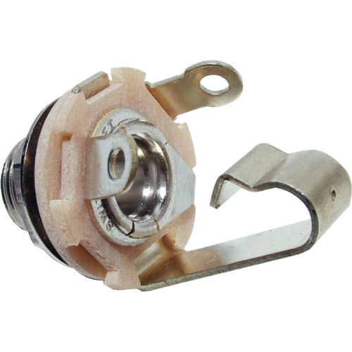 "Jack - Switchcraft, 1/4"", Mono, 2-Conductor, Open Circuit image 1"