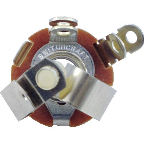 "1/4"" Jack - Switchcraft, Mono, isolated make circuit image 2"