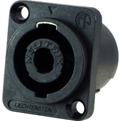 Speaker Twist Jack - Neutrik, speakON, 4-pole, panel mount image 1
