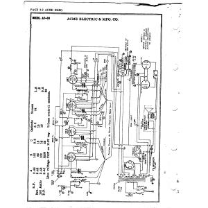 Acme Electric & Mfg. Co. AC-98