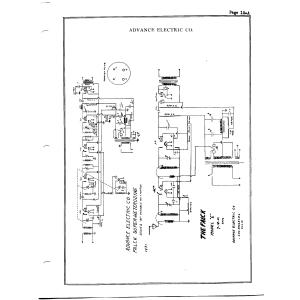 Advance Electric Co. Falck, Model E