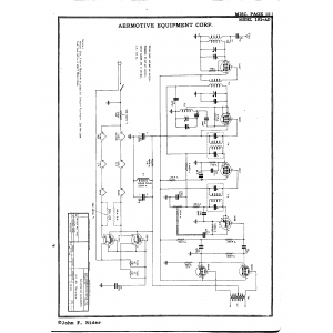 Aeromotive Equipment Corp. 181-AD