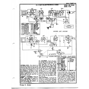 Alamo Electronics Corp. AEC-3RCMB