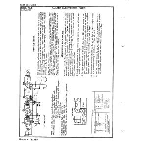 Alamo Electronics Corp. PR-1