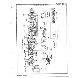 Algene Radio Corp. AR404