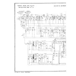 Allen B. Dumont Labs., Inc. 180, Type 3
