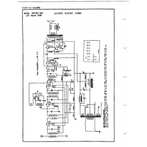 Allied Radio Corp. 118 AVC Super