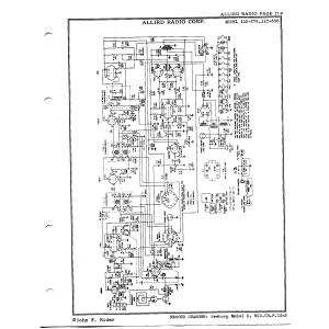 Allied Radio Corp. 11C-300